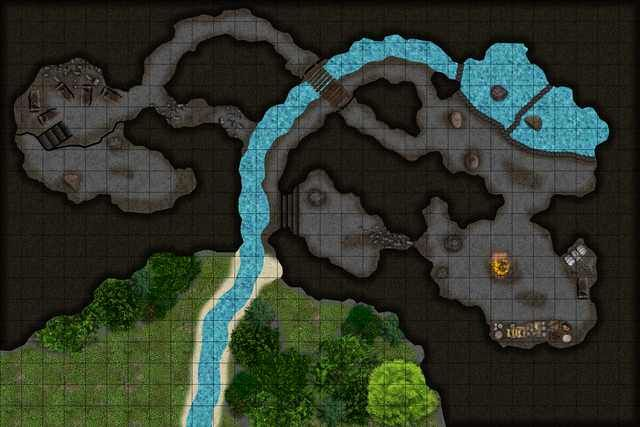 Cragmaw Hideout Fantasy City Map Dungeon Maps Fantasy Map