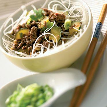 Vermicelles chinois au bœuf