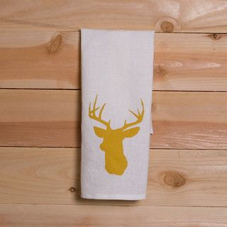 A classic deer head motif in a mustard yellow color, this inexpensive accessory is a subtle nod to fall.