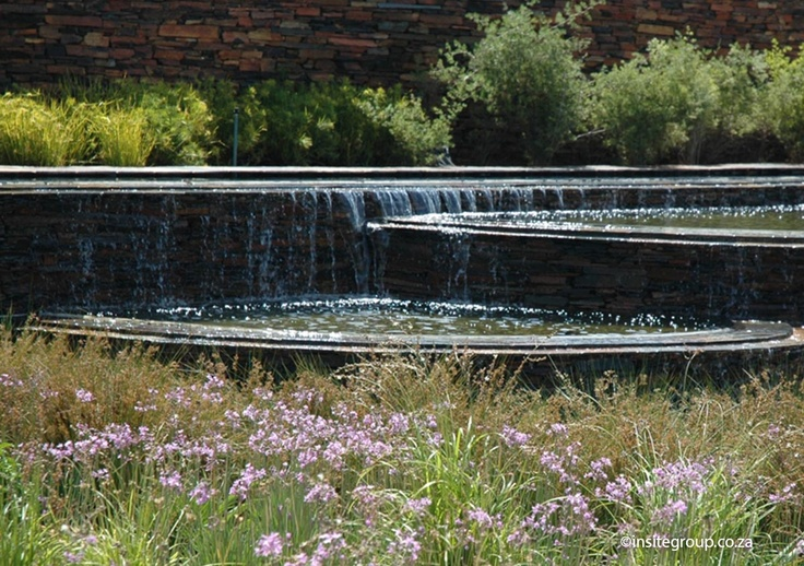 Insite installed this water feature at Serengeti golf and wildlife estate, South Africa.