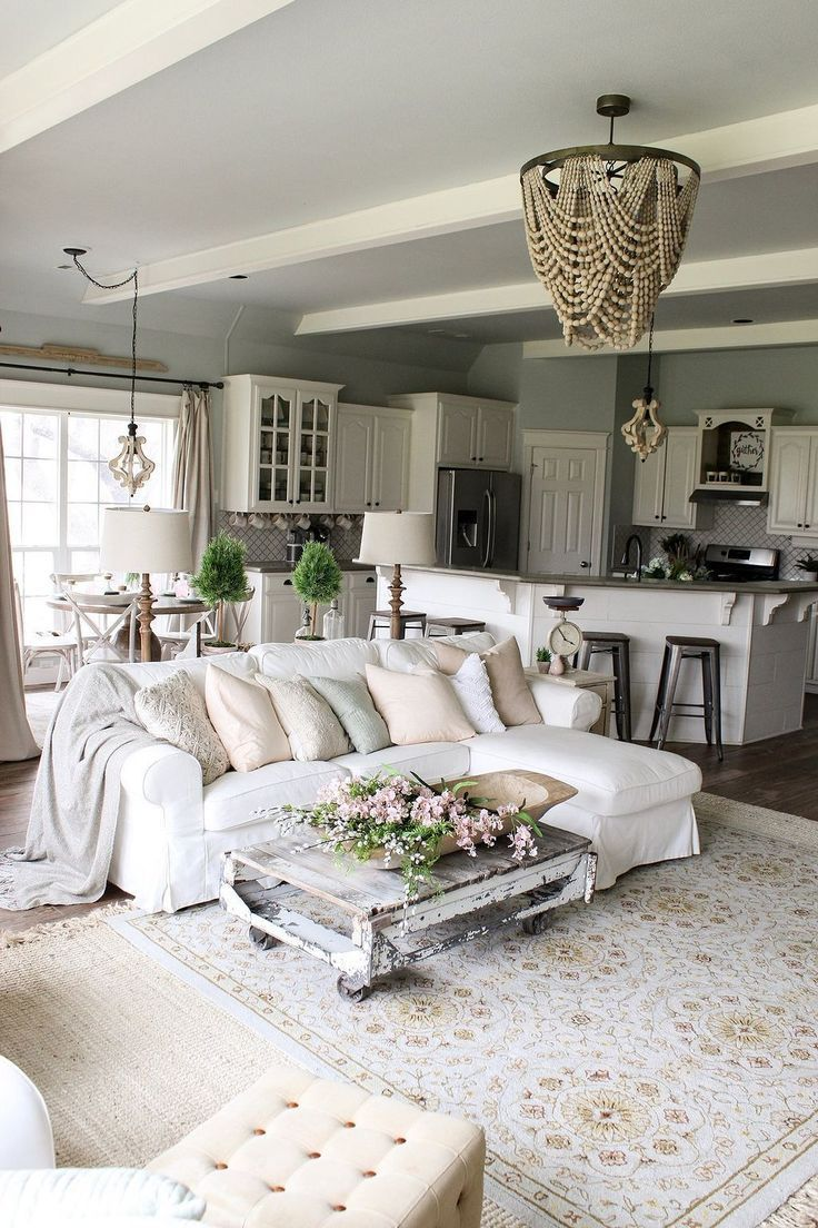 50 Gorgeous Farmhouse Living Room Decorating Ideas Farm H