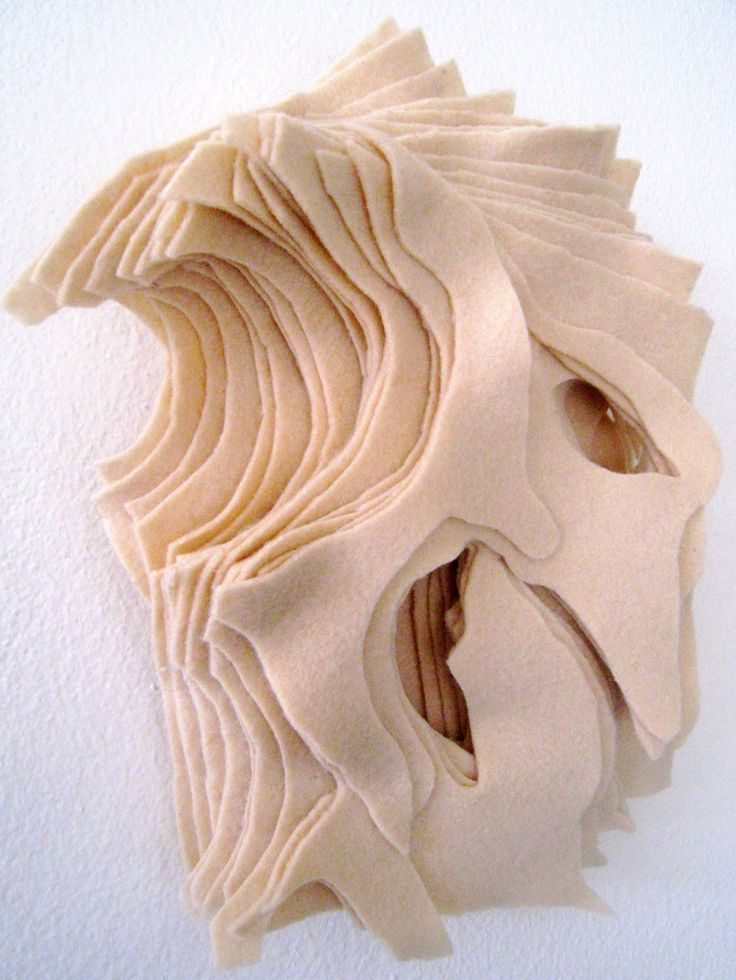 #fabric sculpture #escultura en tela