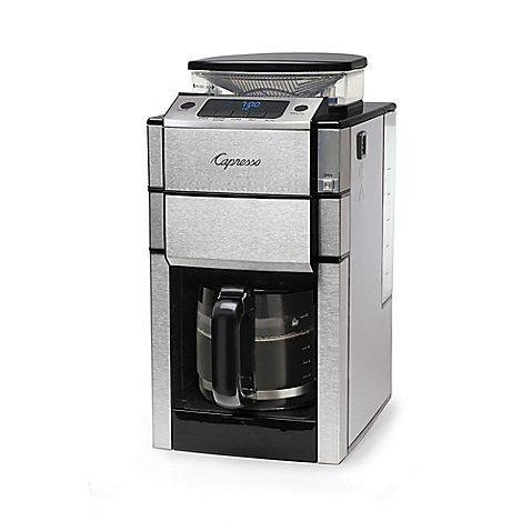 Jura Capresso Coffee TEAM PRO Plus 487.05 12-Cup Coffee Maker in Stainless Steel