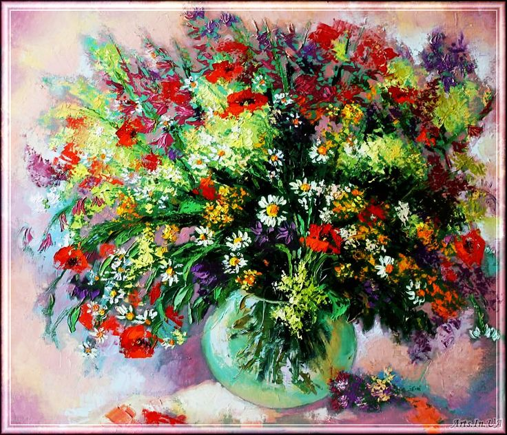 Цветочный рай Юлии Кулишенко