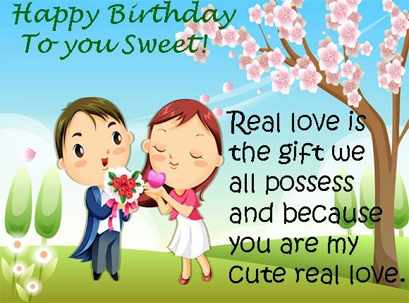 If your heart means your sweet girlfriend birthday is today then why you late send a romantic messages for her picked from here. Love is the best and most beautiful things in the world cannot be se…