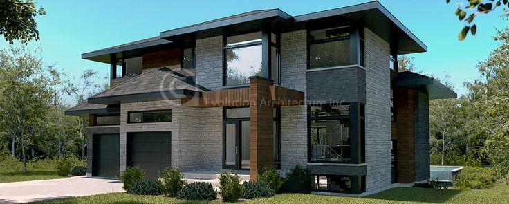 Evolution Architecture,maison contemporaine,création exclusive E-765