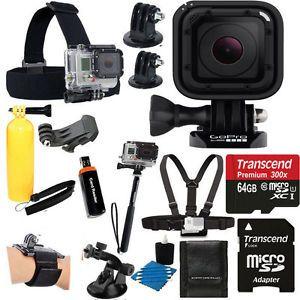 GoPro HERO4 Session Waterproof Camera Camcorder +Head Strap+ 64GB Top Full Kit #GoPro #Waterproof #Camera #FullKit #ForSale #ebay @ebay