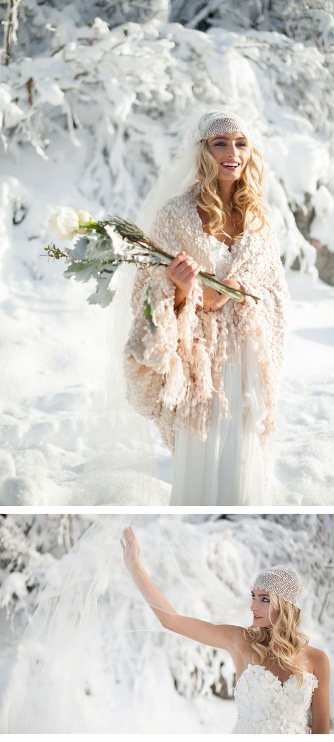 WINTER BRIDE; photo: Blue Rose Photography, styling: Simpy by Tamara Nicole