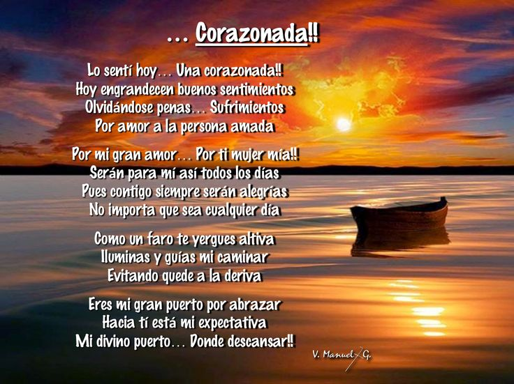 ... Corazonada !!