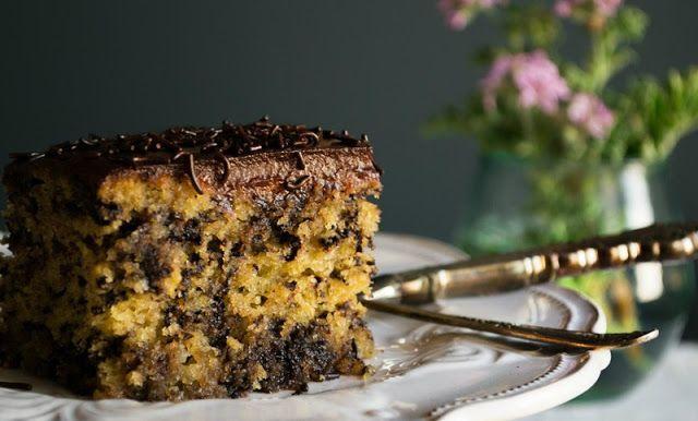 Μυρμηγκάτο  Υλικά για το κέικ   300 gr. αλεύρι φαρινά  125 gr. βούτυρο  115 gr. ζάχαρη  80 ml. ...