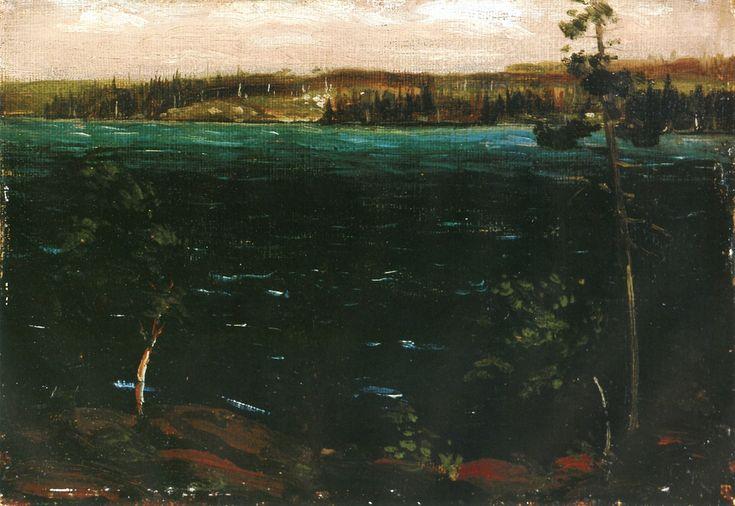 The Athenaeum - Smoke Lake, Algonquin Park (Tom Thomson - )