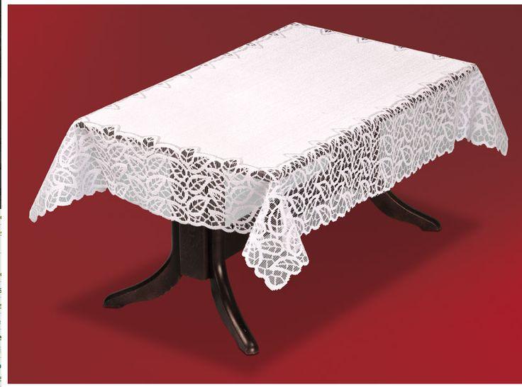 #Obrus_żakardowy Wincenty 150 x 100 cm Przepiękny biały obrus Wincenty to niezwykłe połączenie elegancji z tradycją. Piękny delikatny wzór wykonany na obrzeżach tkaniny doceni każdy znawca dobrego smaku.   Rozmiary: długość: 150 cm szerokość: 100 cm Obrus dostępny również w większym rozmiarze. kasandra.com.pl