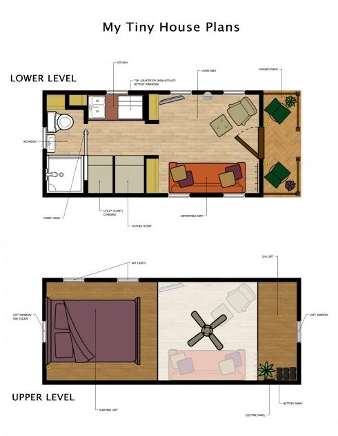 88 best Tiny house ideas \u003c 144 sq ft images on Pinterest ... - tiny house blueprints