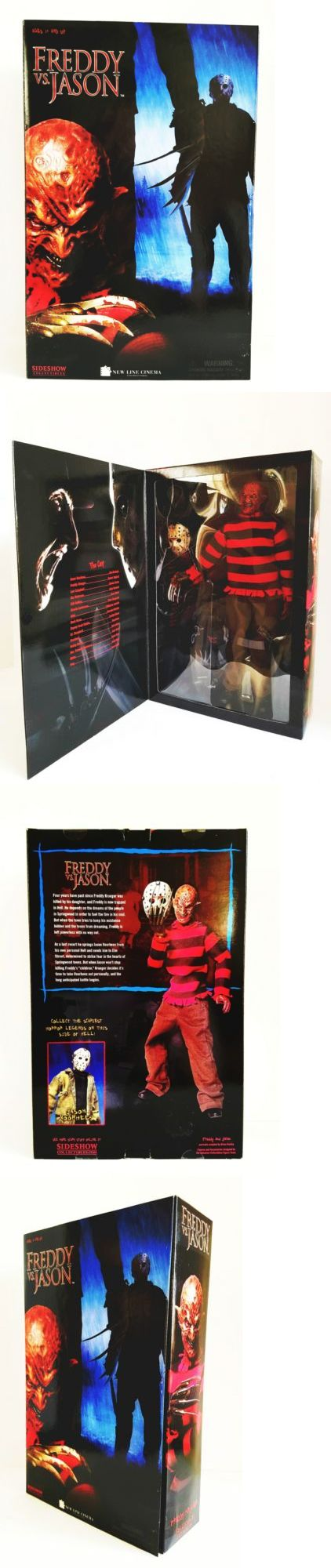 TV Movie and Video Games 75708: New Sideshow 1:6 Scale Freddy Vs Jason 12 Freddy Krueger Collectible Figure. -> BUY IT NOW ONLY: $98.99 on eBay!