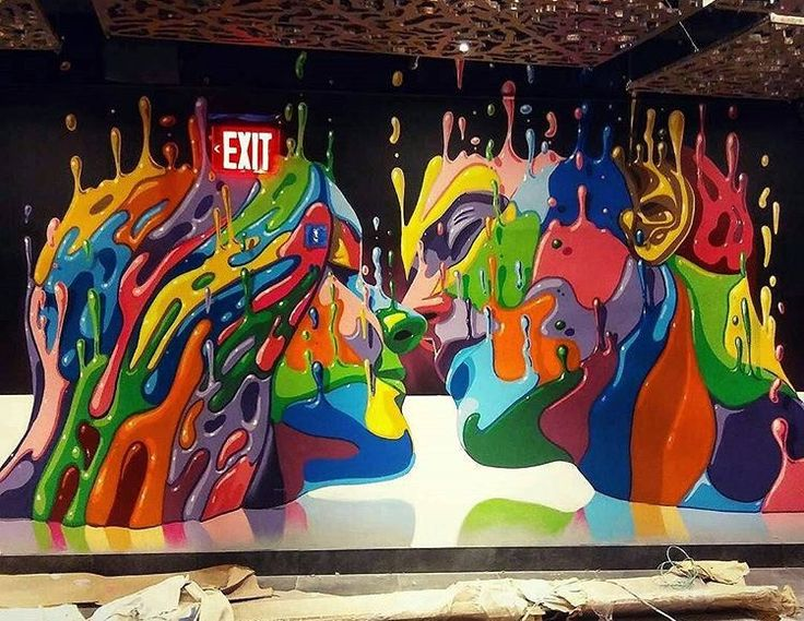 New mural by Dasic Fernandez in Manhattan,NYC.