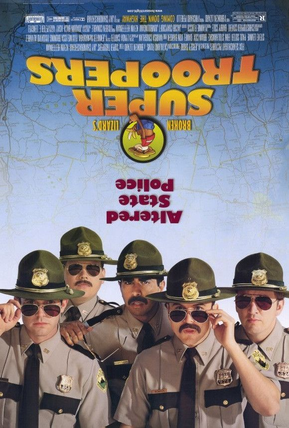 Super Troopers 27x40 Movie Poster (2001)