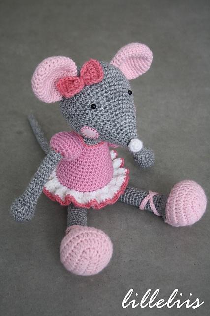 Ravelry: Ballerina-Mouse pattern by Mari-Liis Lille