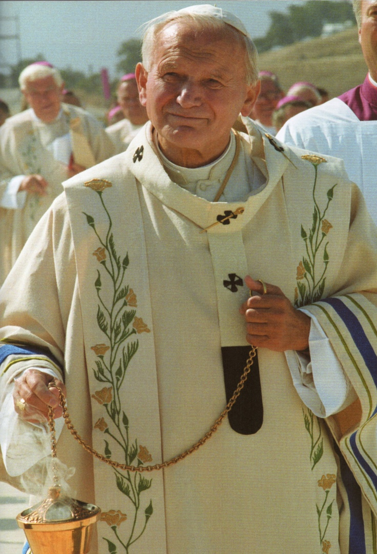 Pope John Paul II, USA 1987
