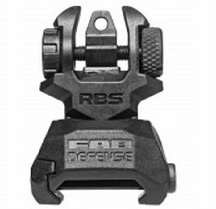 FAB Defense Rear Polymer Back-Up Sight. De RBS Rear polymeer Back-up vizier is een perfecte, low-profile, tactische back-up vizier. http://www.urbansurvival.nl/index.php?item=rear-polymer-back-up-sight&action=article&group_id=10000071&aid=34372&lang=nl