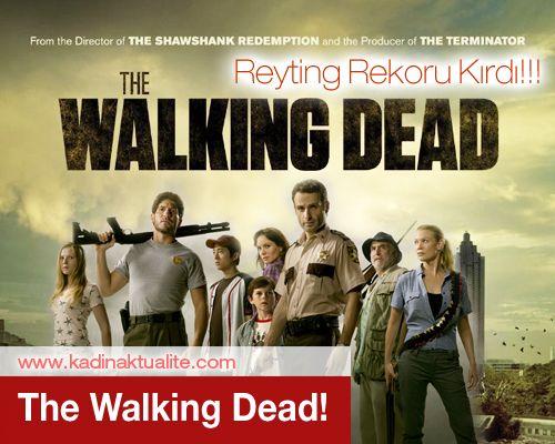 Walking Dead Reyting Rekoru! | Kadın Aktüalite