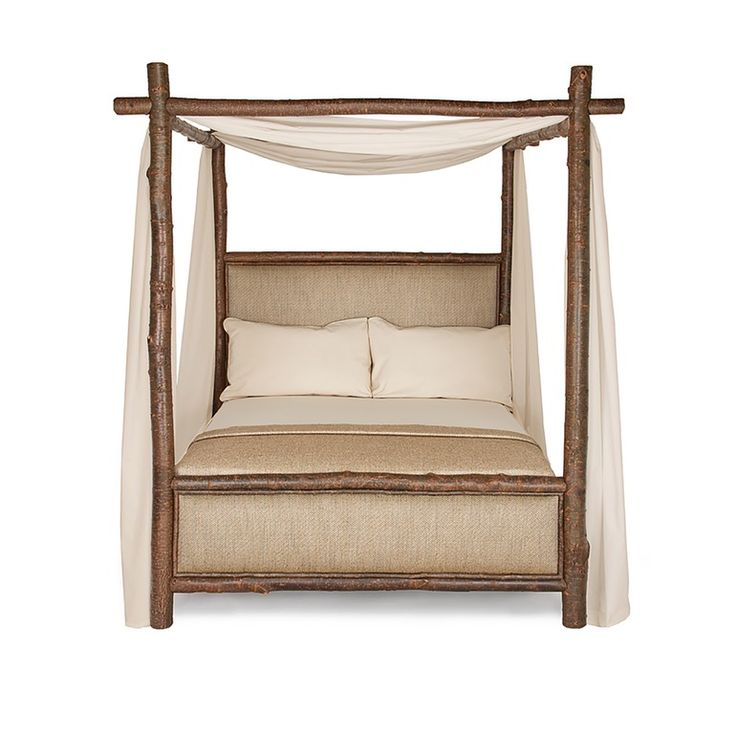 Rustic Canopy Bed  4540 4546. 17 best ideas about Rustic Canopy Beds on Pinterest   Log bed
