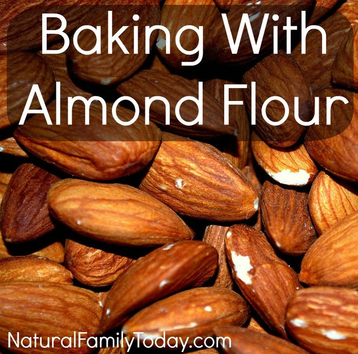 Baking With Almond Flour - a how to and a warning #