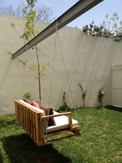 Las 25 mejores ideas sobre columpios de jard n en - Hamacas para jardin ...