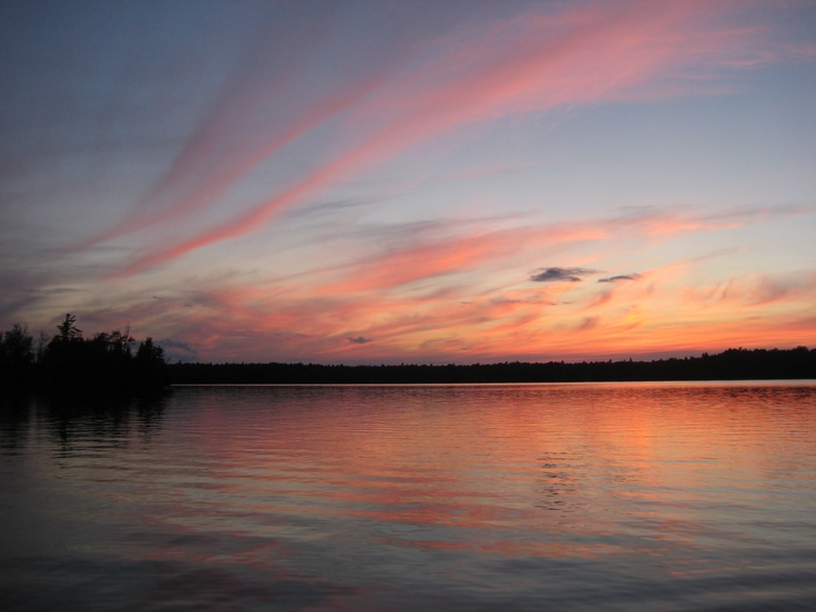 this summer I will be back to the Lake I have gone to every year of my life! I miss this place so much. Sunset on Silver Lake, Ontario Canada- Photo taken by Janelle Phillips