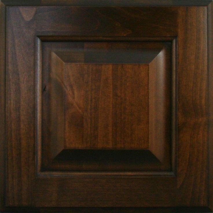Dark Knotty Alder Kitchen Cabinets: Knotty Alder Verona Finish