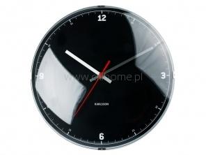 Zegar ścienny KARLSSON Hour Minute Dome czarny  http://www.citihome.pl/zegar-scienny-karlsson-hour-minute-dome-czarny.html