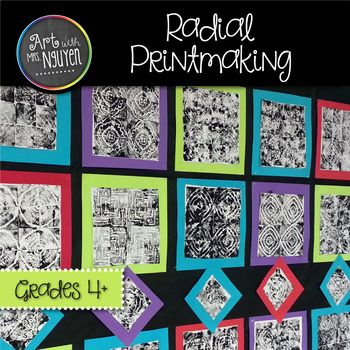 This awesome lesson will teach your students about balance, symmetry, mandalas, and printmaking with rotational symmetry! Included in this package: • Teacher instructions with visuals • Abbreviated student instruction sheet • Grid paper template handout • PowerPoint presentation with animated slides (to help students better