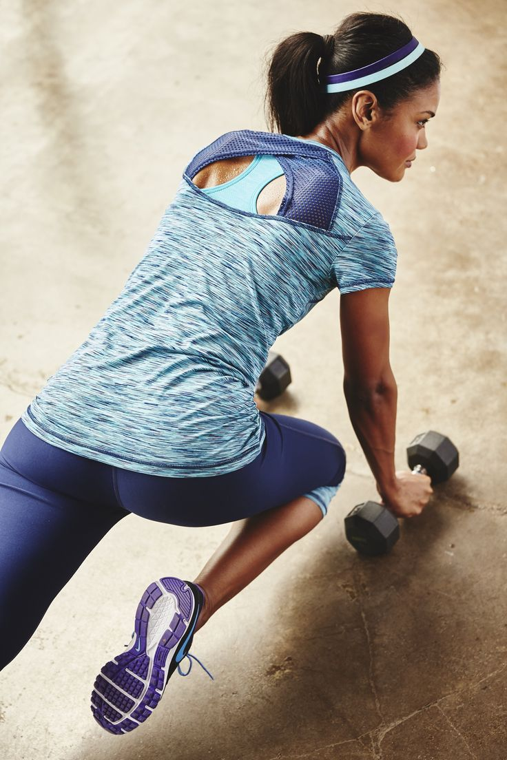 With an open, mesh-inset back, our space-dyed T-shirt will help you keep your cool during workouts, runs and rides.