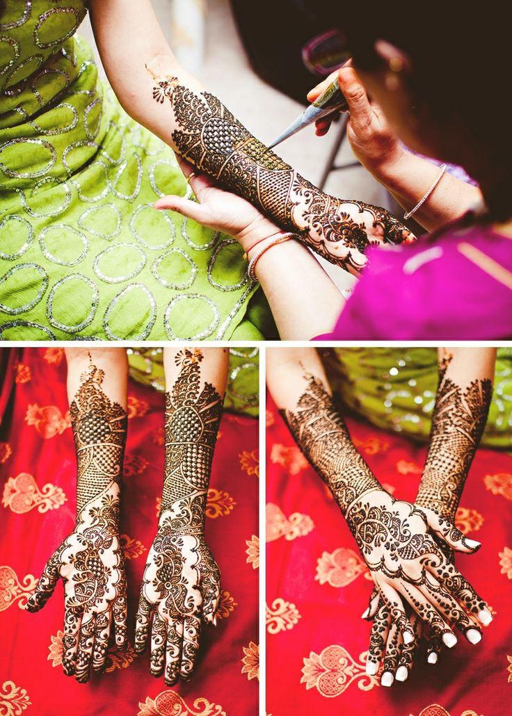 stunning bridal henna!  Photo by:A.S Nagpal
