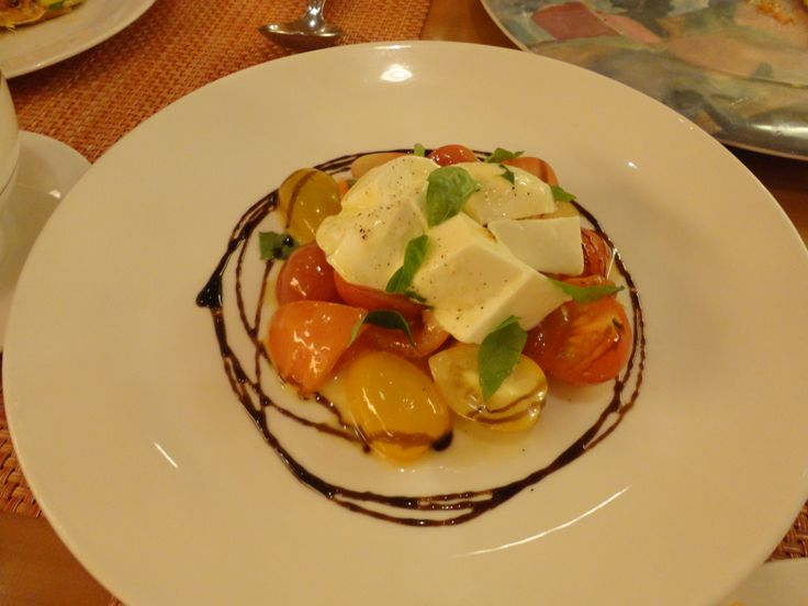Tomato, Egg & Soya Salad @ Palio, Resort World Sentosa