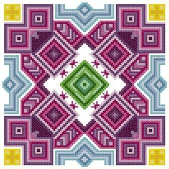 This is REALLY Cool ~ Owl Mandala Counted Cross Stitch Pattern PDF by TheGiftMarket, $4.00