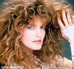 Model good looks: The actress was a beauty in 1989 Rene Russo