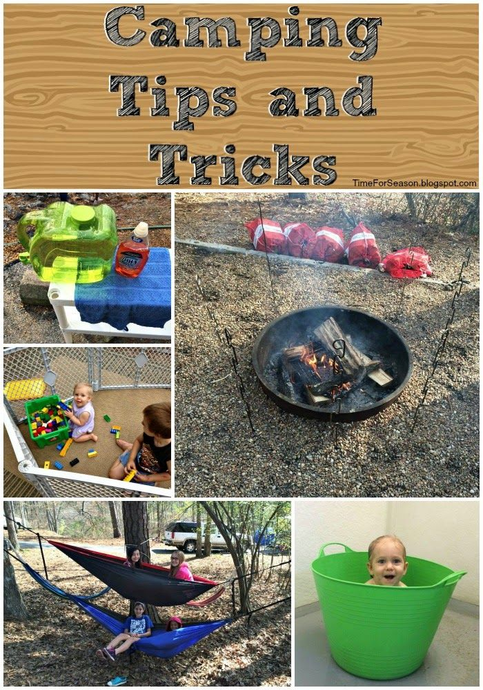 Camping Tips Tricks Hacks With Kids Timeforseasonblogspot