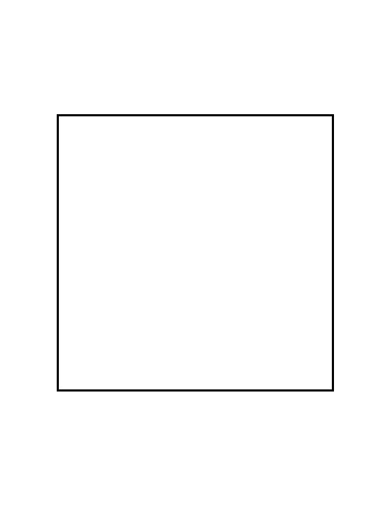 Rare image with printable square template