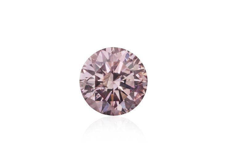 Argyle Origin Round Brilliant Cut Pink Diamond 0.53 ct
