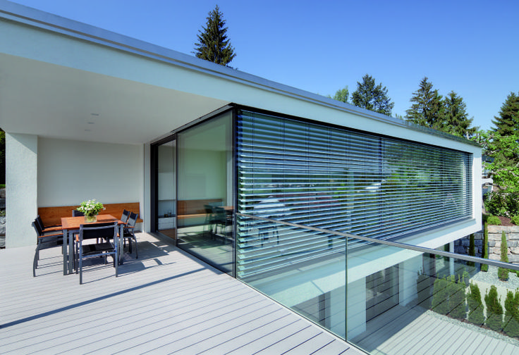 The latest in cutting edge architecture and design, #External #Venetian Blinds are a high-performance shading system http://www.perfectblinds.com.au/window-blinds-range/venetian-blinds.html