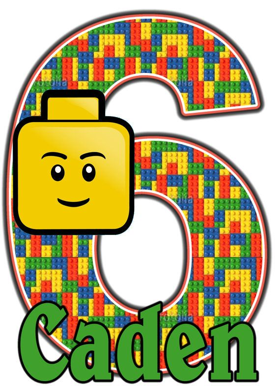 Lego Boy Legos Birthday Party t Shirt Iron On by AMMagicDesigns, $4.25