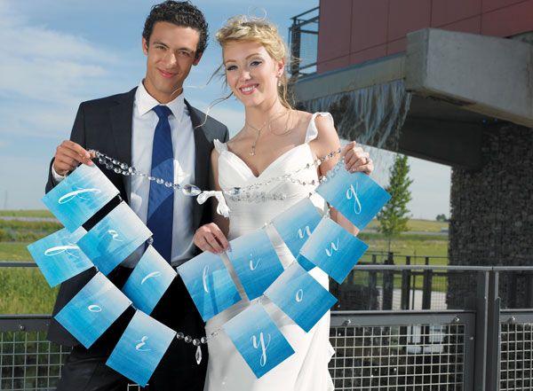 Blue Wedding Décor Ideas