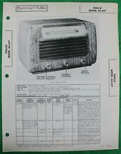 Details about Original 1946 Sams Photofact Philco Radio Model 46-427