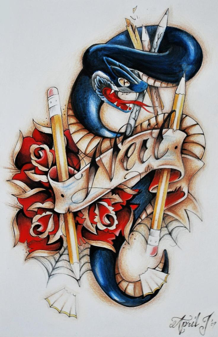 by April Johnson Rose tattoo design, Rose tattoos, Rose