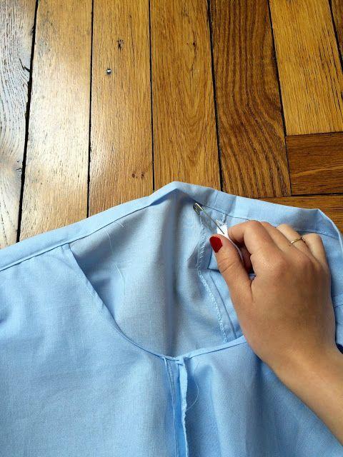 DIY : Ruffle off the shoulder dress