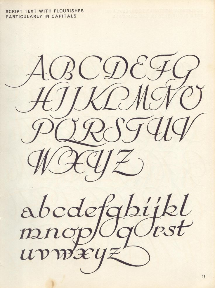 Flickr script lettering
