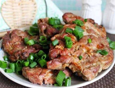 сочные свиные стейки