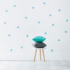 Adairs Kids Removable Wall Stickers Triangles, removable wall stickers, wall stickers
