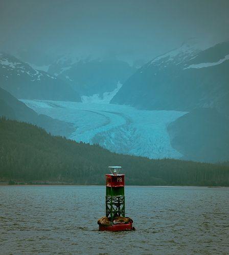 Mystery Glacier - Get tips for #Alaska #Fishing Trips: http://www.thewondermap.com/alaska-fishing-trips/