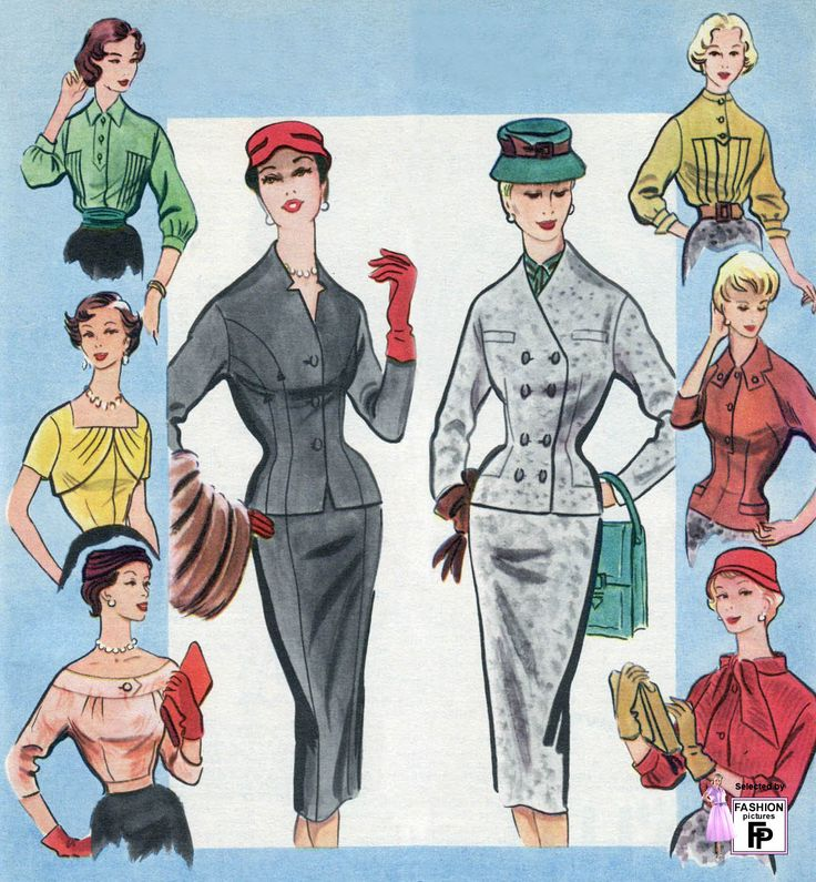 69 Best Images About Fashion Trends Of The 1950 S On